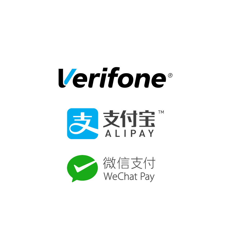 verifone alipay wechat pay
